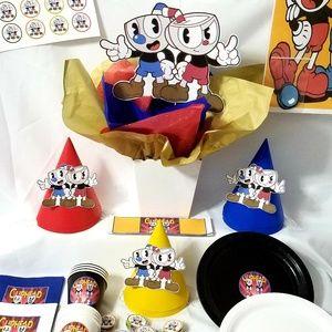 Cuphead & Mughead Party Supplies